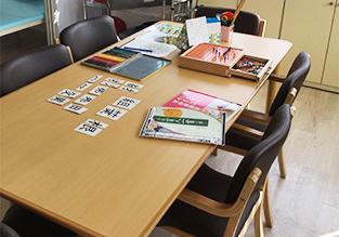 ユアステップリハケアセンターの作業室